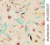 imprints japanese sakura... | Shutterstock .eps vector #1911320137