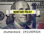 Torn Bills Revealing Monetary...