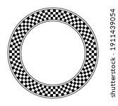Checkerboard Pattern  Circle...