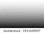 seamless halftone vector... | Shutterstock .eps vector #1911439057