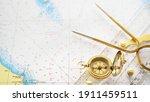 Golden Sundial  Antique Vintage ...