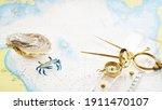 "Golden Sundial  Antique W Hc 6"" ..."