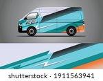 racing car decal wrap design.... | Shutterstock .eps vector #1911563941