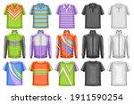 Vector Set Of Sport Clothes  15 ...
