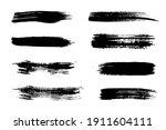 modern vector brushes. vector...   Shutterstock .eps vector #1911604111