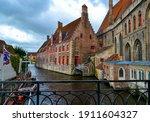 Medieval Architecture In Bruges ...