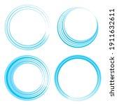 Circular Spiral  Swirl  And...