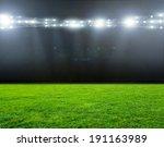 Green Soccer Field  Bright...