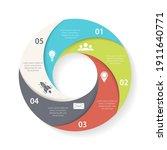 vector circle infographic...   Shutterstock .eps vector #1911640771