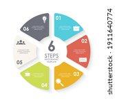 vector circle infographic...   Shutterstock .eps vector #1911640774
