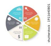 vector circle infographic...   Shutterstock .eps vector #1911640801