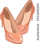High Heeled Shoe For Women's...