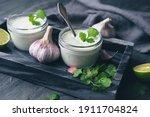 Cilantro Garlic Sauce With Lime ...
