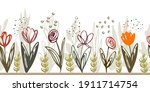 Seamless Baner Pattern From...