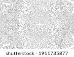 beautiful monochrome... | Shutterstock .eps vector #1911735877