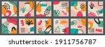 big set of various vector... | Shutterstock .eps vector #1911756787