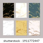 gold marble pattern background. ... | Shutterstock .eps vector #1911772447