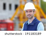 view of a worker on a... | Shutterstock . vector #191183189