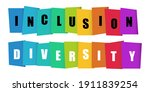 inclusion and diversity... | Shutterstock .eps vector #1911839254