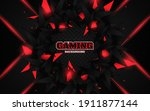 abstract futuristic geometric... | Shutterstock .eps vector #1911877144