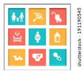 abstract creative concept... | Shutterstock .eps vector #191190545