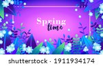 spring time. beautiful and...   Shutterstock .eps vector #1911934174