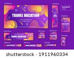 collection web banners... | Shutterstock .eps vector #1911960334