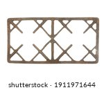 Old Rusty Gas Stove Grate...