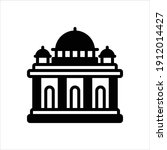 vector black icon for authority   Shutterstock .eps vector #1912014427
