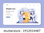 slimming specialist web banner...   Shutterstock .eps vector #1912014487
