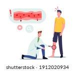 vessels inflammation  rosacea... | Shutterstock .eps vector #1912020934