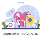 doctor concept. healthcare ...   Shutterstock .eps vector #1912072207