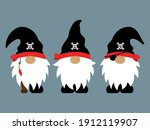 pirate gnomes cartoon character ... | Shutterstock .eps vector #1912119907