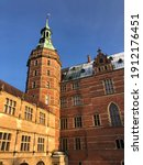 Frederiksborg castle in Denmark. Old but beautiful and a second touch of sunshine