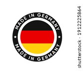 made in germany stamp icon...   Shutterstock .eps vector #1912225864