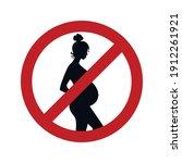 dangerous for pregnant women.... | Shutterstock .eps vector #1912261921