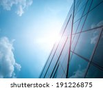 modern glass silhouettes of... | Shutterstock . vector #191226875