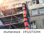 Scaffolding With Big Red...