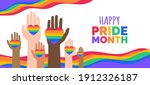 Happy Pride Month Lgbt...