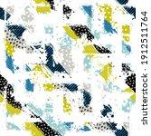 template seamless abstract... | Shutterstock .eps vector #1912511764