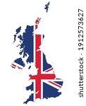 united kingdom of great britain ... | Shutterstock .eps vector #1912573627