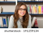 portrait of a student in a... | Shutterstock . vector #191259134
