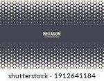 hexagonal pattern vector... | Shutterstock .eps vector #1912641184