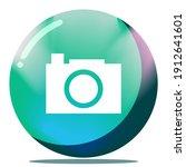 cartoon image camera button...