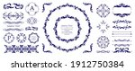antique decorative materials ... | Shutterstock .eps vector #1912750384