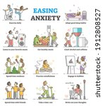 easing anxiety or depression... | Shutterstock .eps vector #1912808527