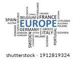 word cloud of different...   Shutterstock .eps vector #1912819324