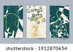 minimal art design. geometric... | Shutterstock .eps vector #1912870654