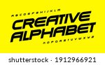 creative alphabet for... | Shutterstock .eps vector #1912966921