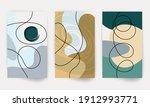 minimal art design. modern... | Shutterstock .eps vector #1912993771